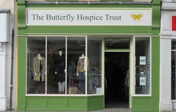 Butterfly Hospice Shop