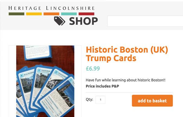Heritage Lincolnshire Online Shop